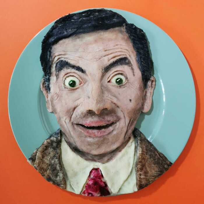 Портрет мистера Бина. \ Фото: google.com.ua.