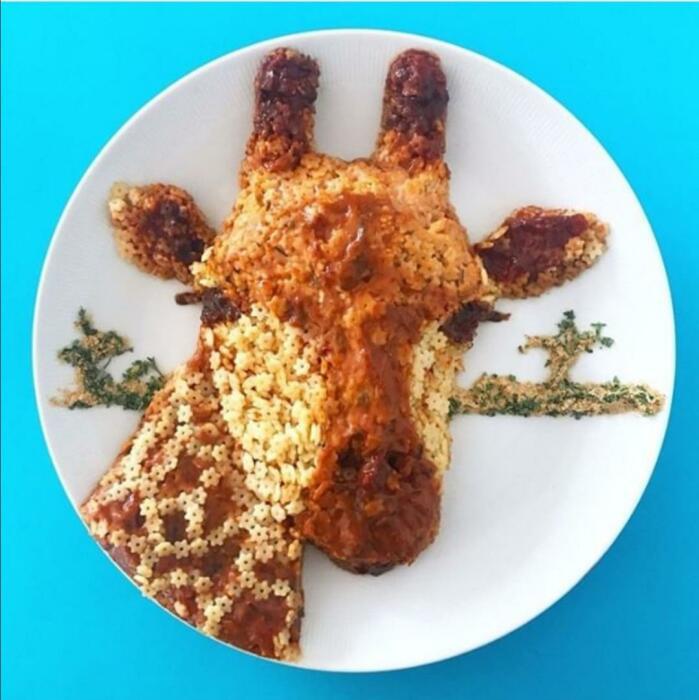 Жираф. \ Фото: reddit.com.