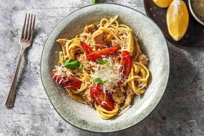 Классическая итальянская паста. \ Фото: hellofresh.com.