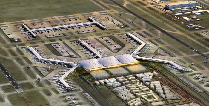 Новый аэропорт Стамбула.