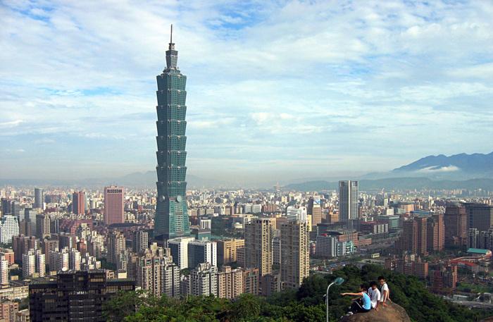 Удивительная башня Тайбэй 101.