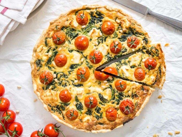 Вкуснейший домашний пирог. \ Фото: vegangerechten.be.
