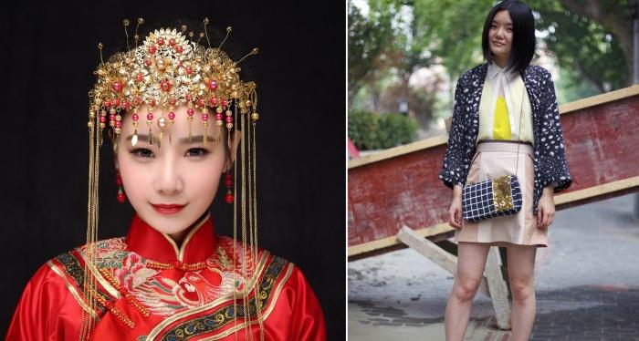 Китайские модницы. \ Фото: pinterest.com.