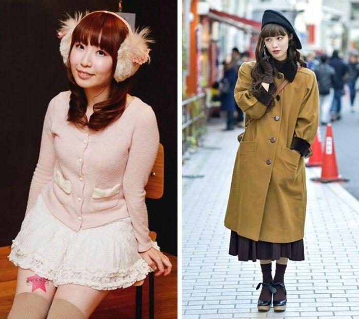 Как одеваются японские женщины. \ Фото: yandex.ua.