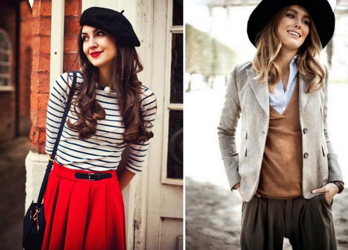 Французские модницы. \ Фото: vivendi.ru.
