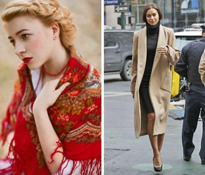 Как одеваются женщины в России.\ Фото: google.com.