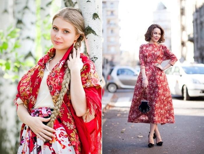 Русские модницы. \ Фото: fashion-likes.ru.