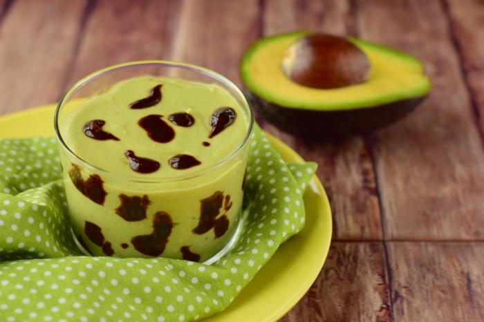 Пудинг из авокадо. \ Фото: agrodolce.it.