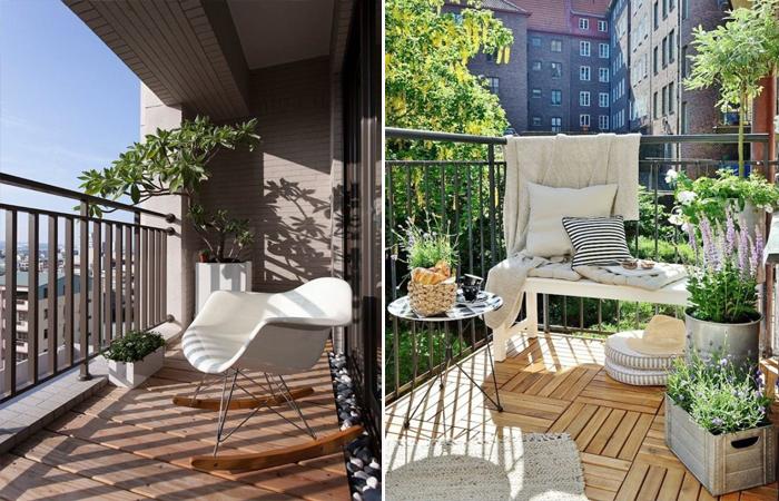 Современный дизайн балконов.