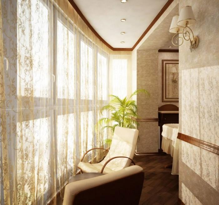 Этот стиль подходит романтичным и мечтательным натурам. Цвета – только светлые, мебель – лёгкая и малогабаритная.
