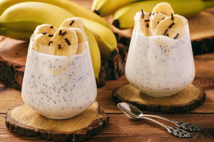 Десерты из банана.
