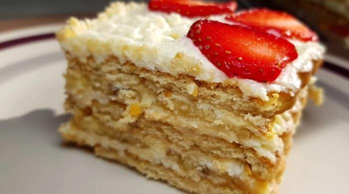 Этот тортик тает просто во рту.