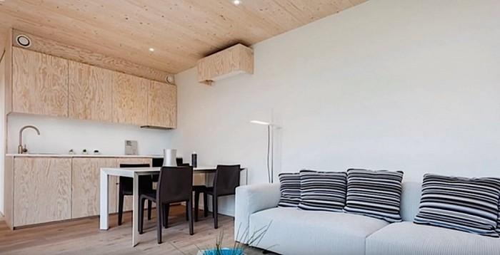Такие мини-дома могут удовлетворить жилищные потребности престарелых или одиноких людей, которые не нуждаются в большом пространстве.