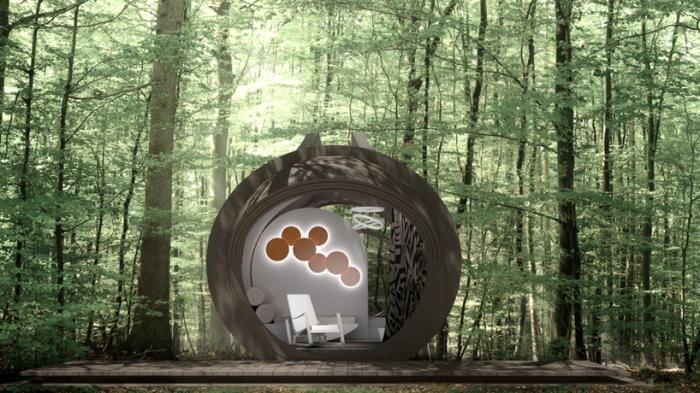 Конструкция под названием Drop Eco Otel придумана креативной группой In-Tenda, а воплощена в жизнь студией Urban Square в проекте мобильного эко-отеля.