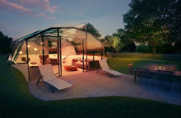 Лондонская команда архитекторов и учёных, разработавших этот проект, заверяет, что такой дом можно построить почти в любом месте и даже перемещать.