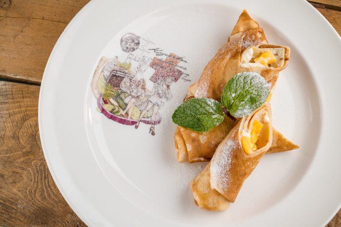 Лимонные блины с рикоттой. \ Фото: cultura.menu.