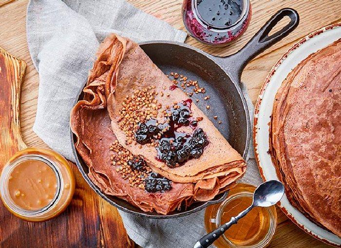 Изумительно вкусные гречневые блины. \ Фото: dg.betta.ua.