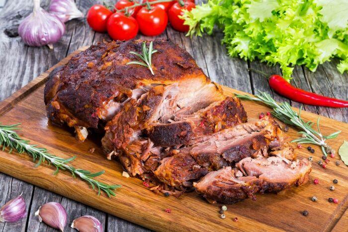 Буженина с соевым соусом. \ Фото: vozdosudoeste.com.br.