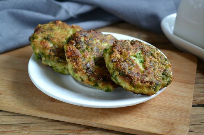 Овощные котлетки из брокколи. \ Фото: wowfood.club.