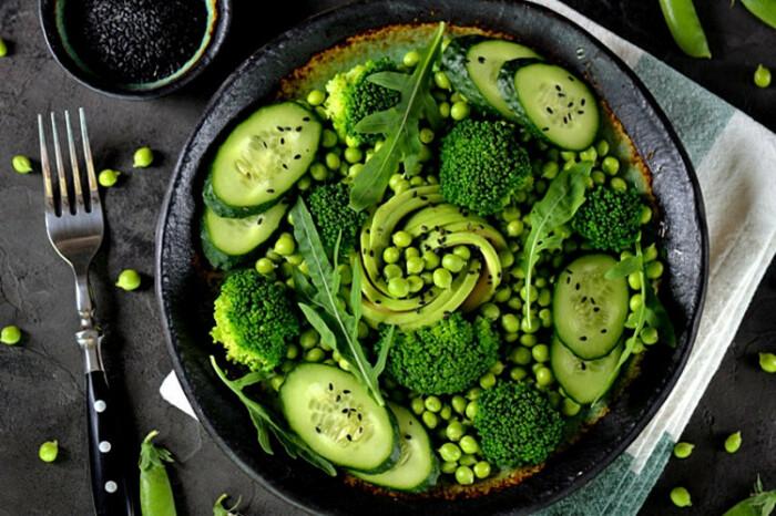 Витаминный салат. \ Фото: cook-today.com.