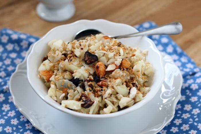 Полезный завтрак на скорую руку. \ Фото: nogibogi.com.