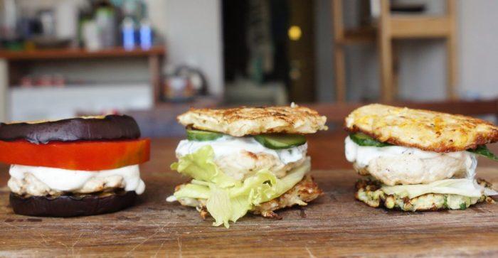 Аппетитные мини-бургеры без хлеба. \ Фото: lifehacker.ru.
