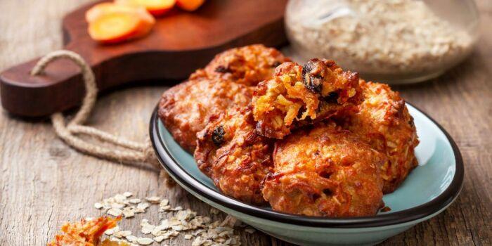 Морковное печенье. \ Фото: pinterest.ru.