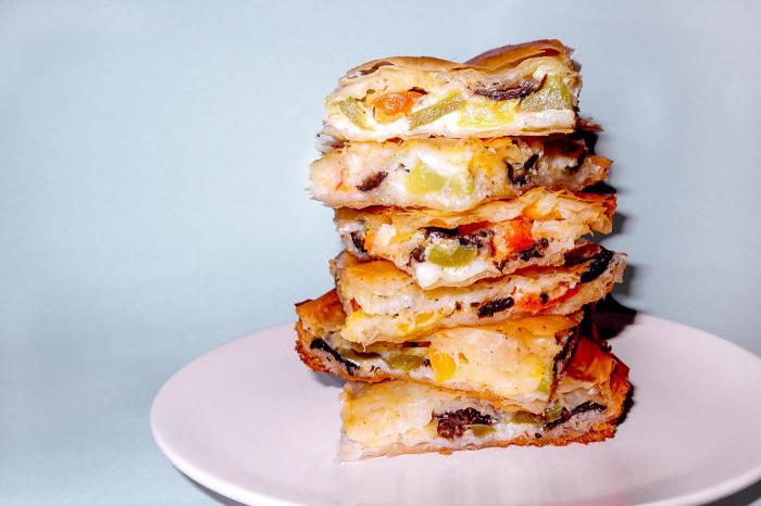 Рисовый пирог с сыром. \ Фото: fashionparadoxes.com.