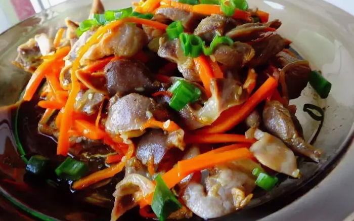 Куриные желудки по-корейски. \ Фото: eat-me.ru.