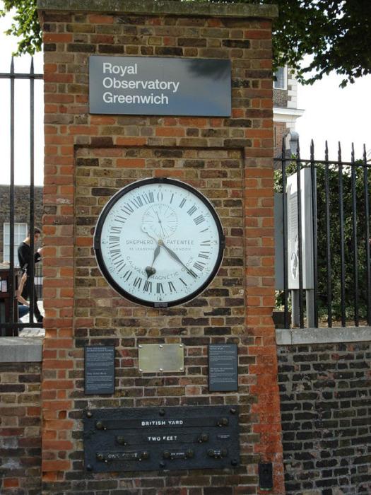 Это самые главные 24-часовые часы, с которых и начинается отсчет времени для всего человечества.
