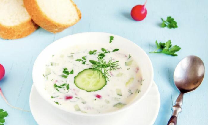 Холодный персидский суп. \ Фото: google.com.