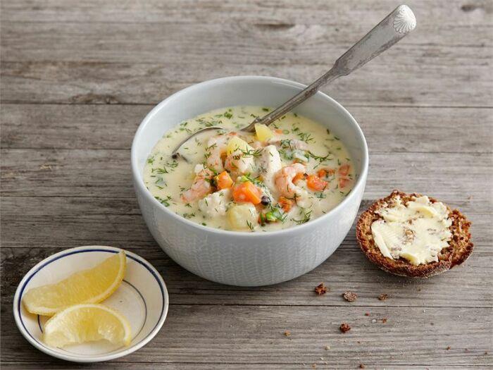 Рыбный суп. \ Фото: yandex.ua.