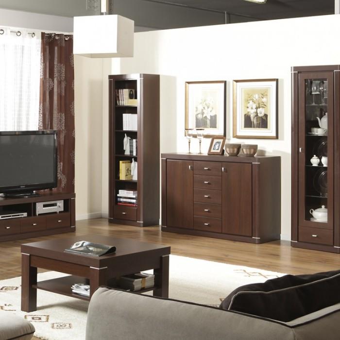 Шкафы цвета венге – подчеркнут не только интерьер, а и безупречный вкус хозяев квартиры.