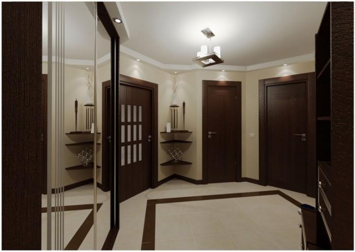 Следуя за дизайнерами интерьеров, разработчики мебельных гарнитуров для прихожих активно используют цвет венге в своих изделиях.