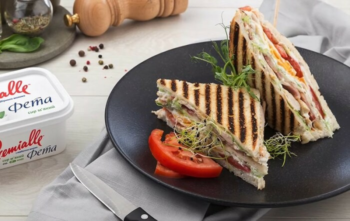 Сэндвич с нутом и фетой. \ Фото: all-cook.com.