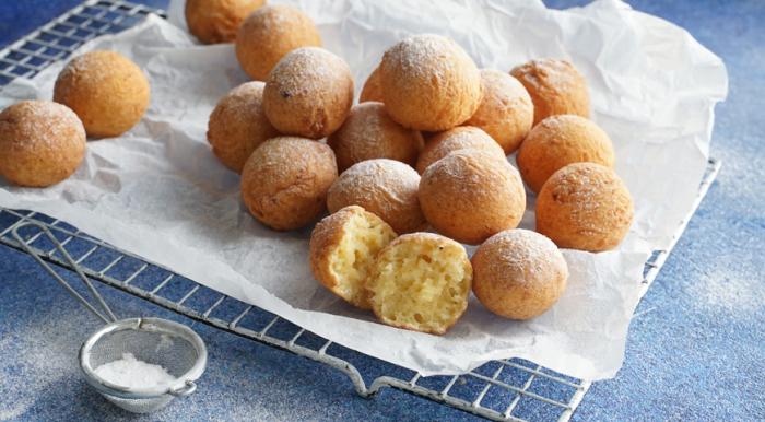 Творожные пончики. \ Фото: google.com.