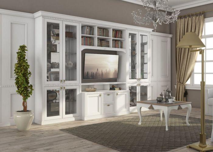 Белый сделает больше любое помещение, а белая мебель впишется в любой интерьер