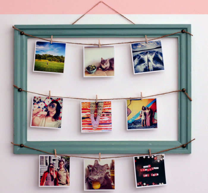Идеи декора фотографиями. \ Фото: diys.com.