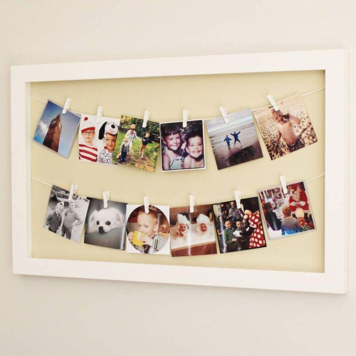 Снимки - прекрасный вариант для декора стен. \ Фото: pinterest.com.