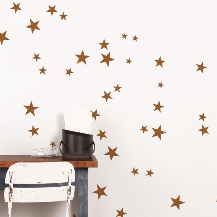 Конфетти-звёзды. \ Фото: homedepot.com.