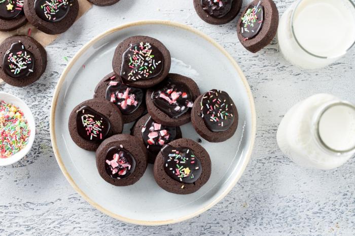 Домашнее шоколадное печенье.  Фото: zira.uz.