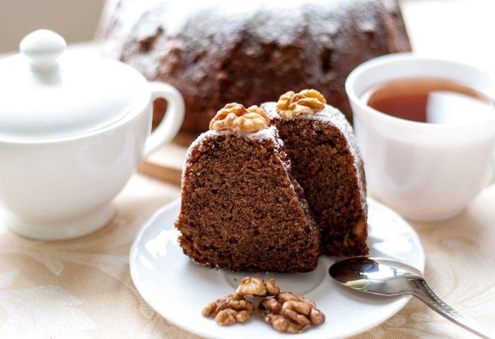 Пирог из шоколада.  Фото: bulochka.ru.