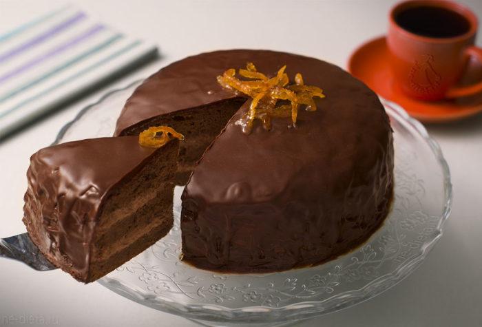 Шоколадный торт без выпечки.  Фото: