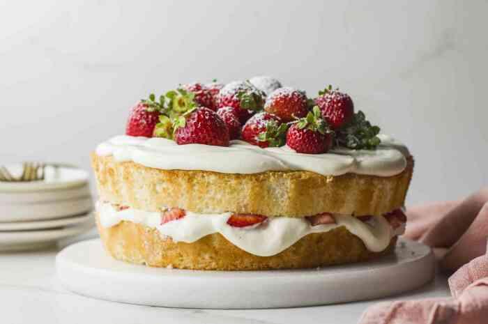 Гороховый пирог с клубникой. \ Фото: gourmet4life.com.