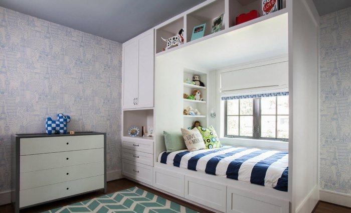 Практичный шкаф-кровать.