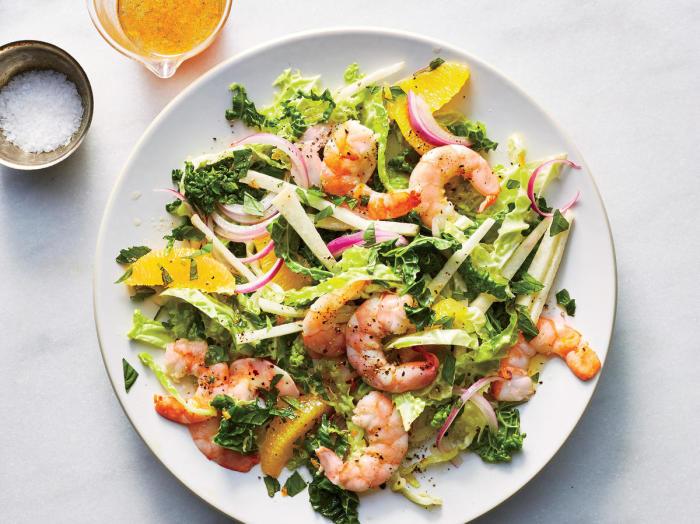 Лёгкий и вкусный салат. / Фото: cookinglight.net.