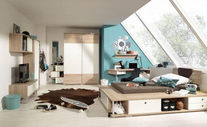 Выбирайте качественную мебель светлых тонов и оттенков.