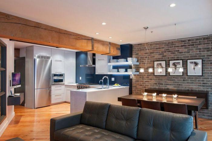 Стильный дизайн небольшой квартиры-хрущёвки.