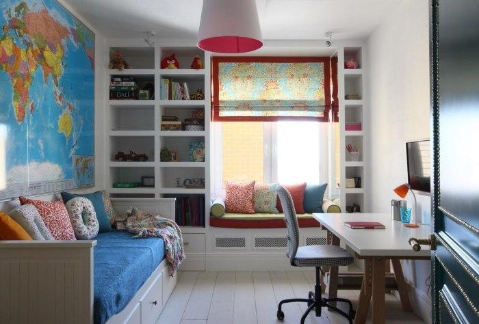 Современная детская комната в хрущёвке.