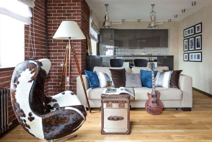 Объединение кухни и гостиной — удачный вариант увеличения полезной площади для небольшой кввартиры.